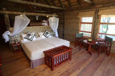 nata lodge twin room